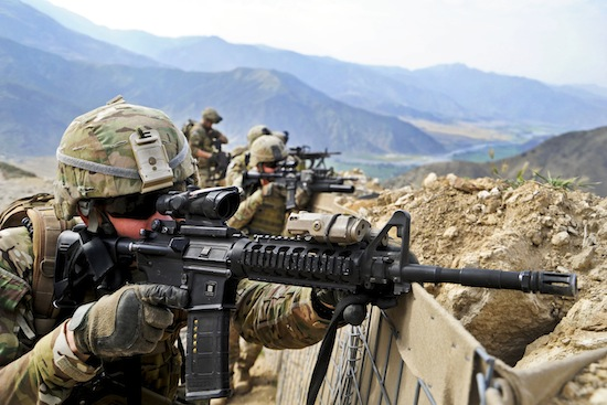 Photo: soldiers in Afghanistan