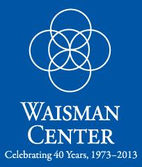 Image: Waisman anniversary logo