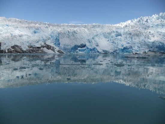 Photo: melting ice sheet in Greenland