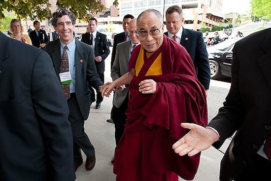 Photo: the Dalai Lama