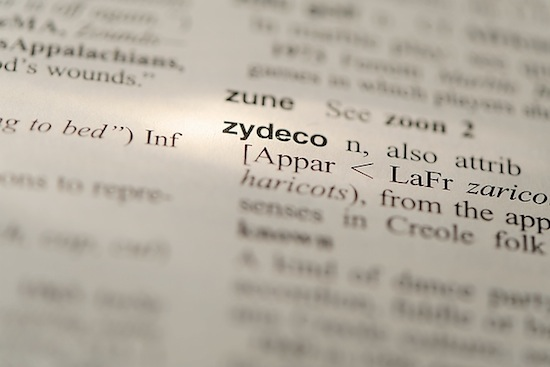 Photo: definition of zydeco