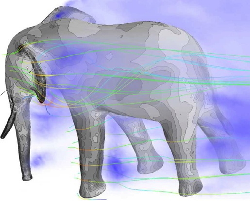 Photo: Digital elephant