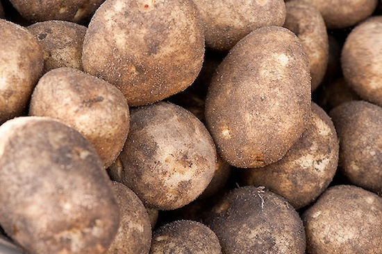 Photo: Potatos
