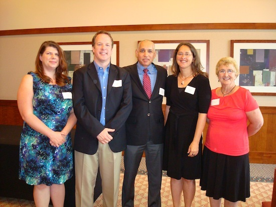 Photo: Administrative Achievement Award winners