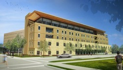 Photo: Cooper Hall rendering