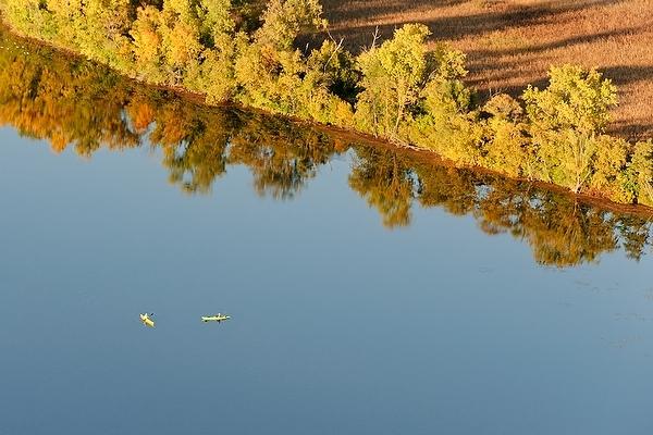 Photo: aerial view of Lake Wingra