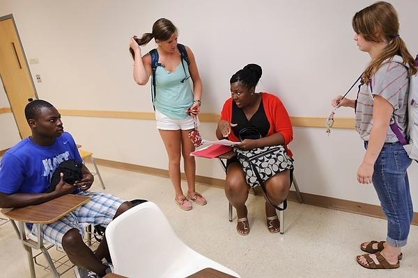 Photo: Peer mentors