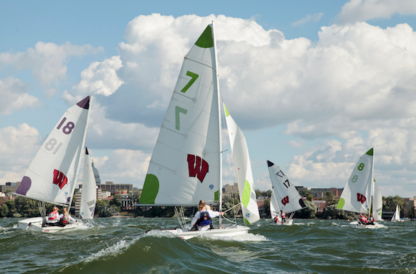 Photo: Sailing team