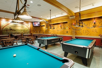 Photo: Billiard tables in Der Stiftskeller