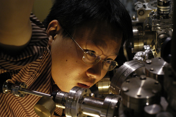 Photo: Synchrotron researcher