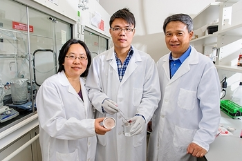 Photo: lab team