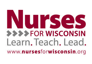 Nourses for Wisconsin logo