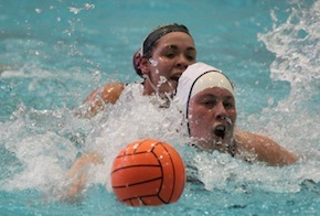 Water polo play
