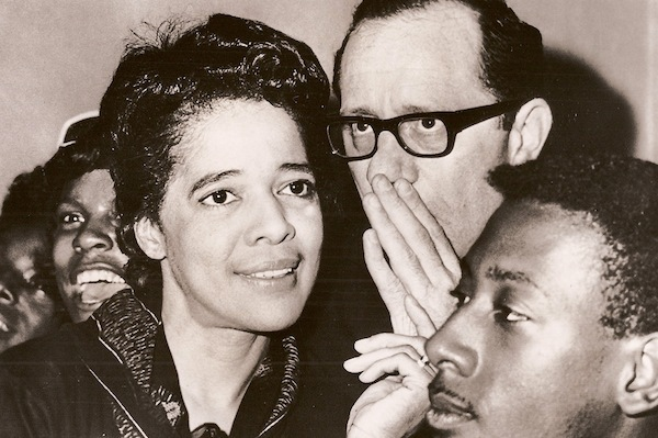 Vel Phillips and Rev. James Groppi