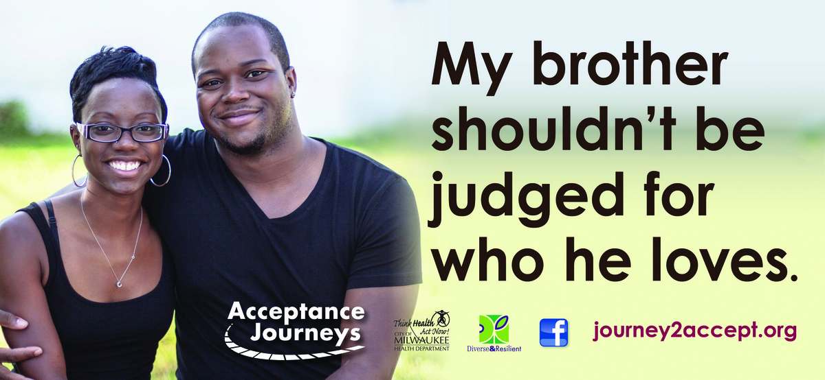 Photo: Acceptance Journey's billboard