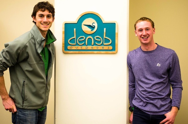 Deneb Outdoors entrepreneurs