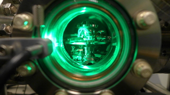 Photo: close-up of atom probe