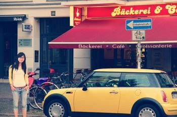 Photo: Fei Ma on German street