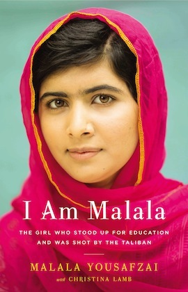 """I Am Malala"" book cover"