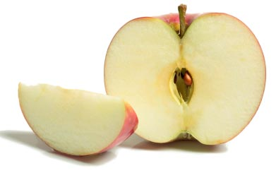 Photo of sliced apple