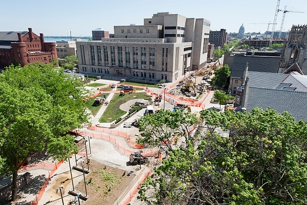 State Street Mall construction