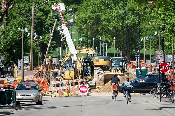 State Street construction