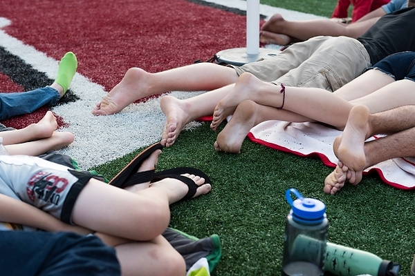 Movie Night at Camp Randall