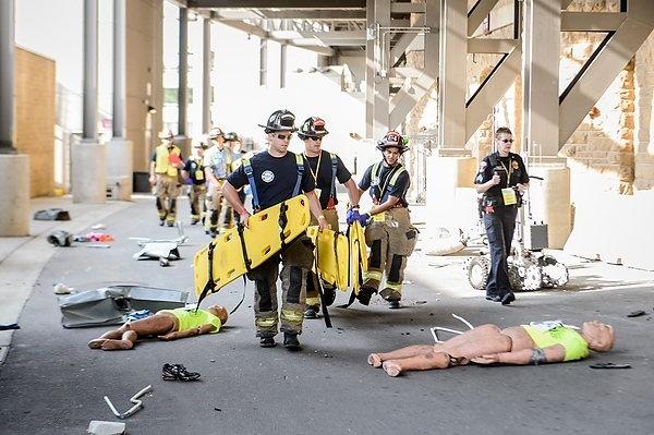 Photo: emergency responders