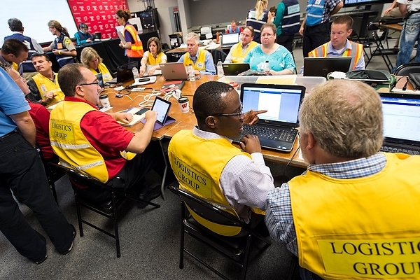 Photo: Emergency operations center