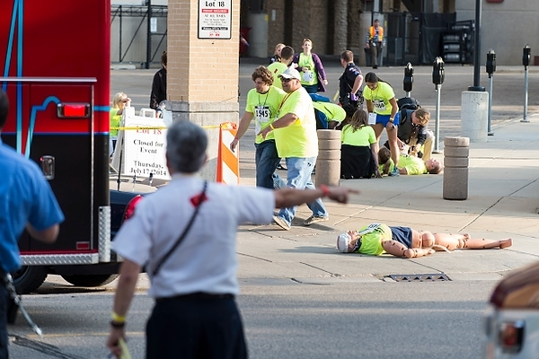 Photo: First responders