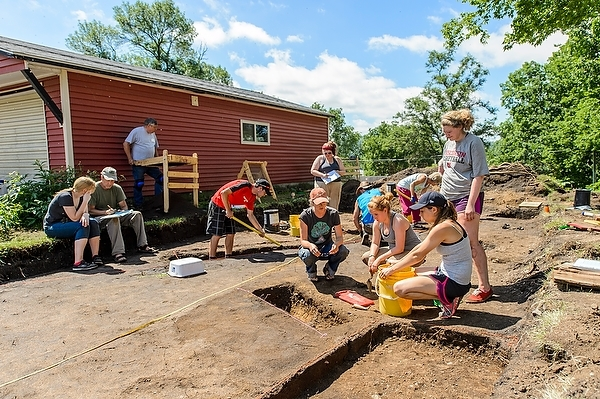 Archaeology at Trempealeau