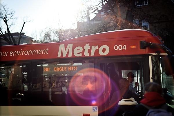 Photo: Madison Metro bus