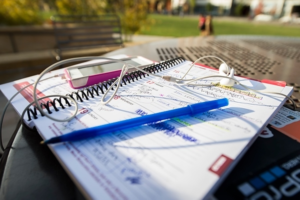 Photo: Student day planner