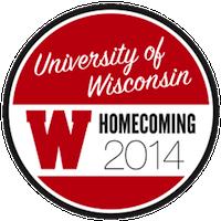 Photo: UW Homecoming badge