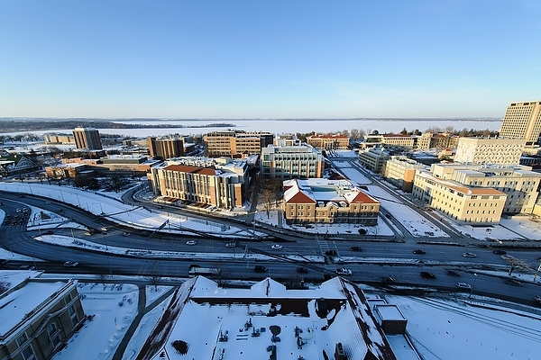 Photo: Downtown Madison isthmus