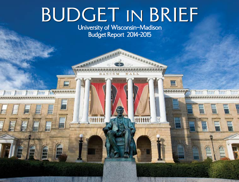 Photo: Cover of Budget in Brief