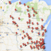 Photo: Interactive map showing alcohol-related fatal traffic accidents in 2013