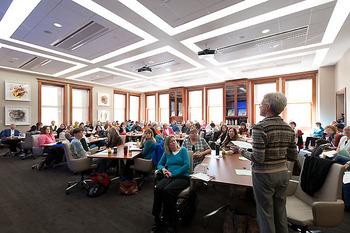 Photo Wisconsin Idea Room In Education Building