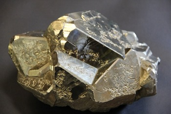 Photo: Lump of fool's gold