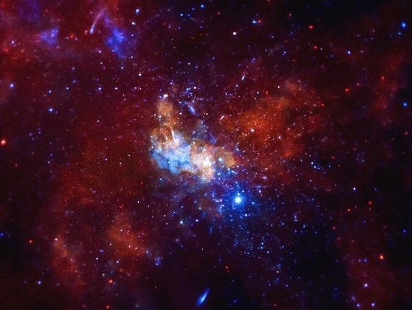 Photo: Sagittarius A black hole