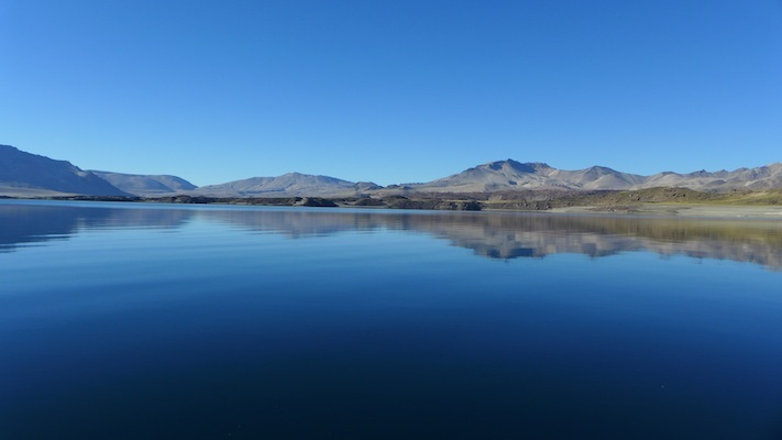 Photo: Laguna del Maule, Chile