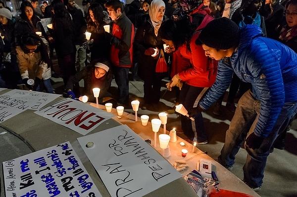 Photo: Pakistani Students Association vigil